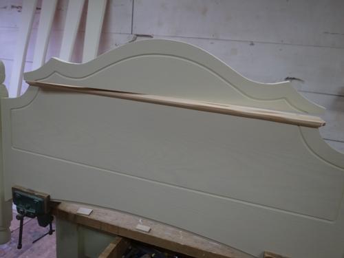 フレンチデザインのベッド5