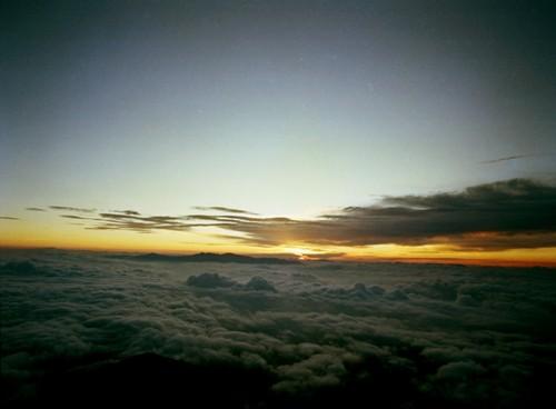 観音ヶ岳山頂からのご来光