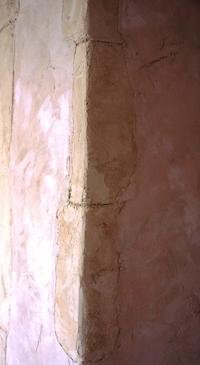 ドア周りの石積み2