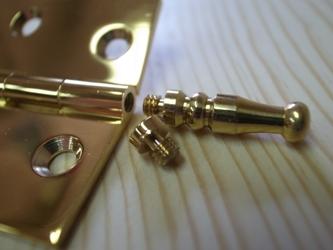 真鍮のヒンジ