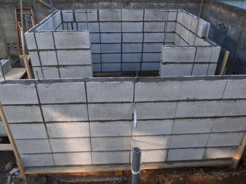 積み上げられたブロック1