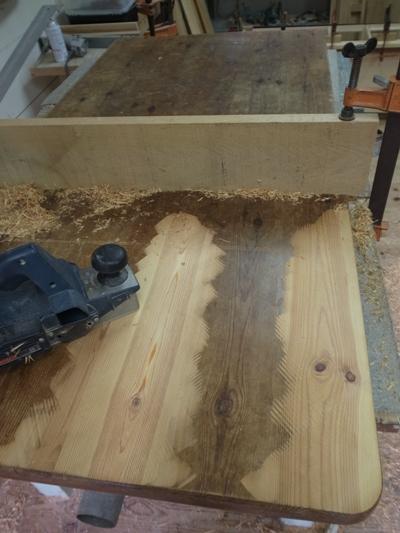 テーブルの天板1