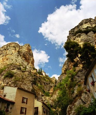 ふたつの岩山